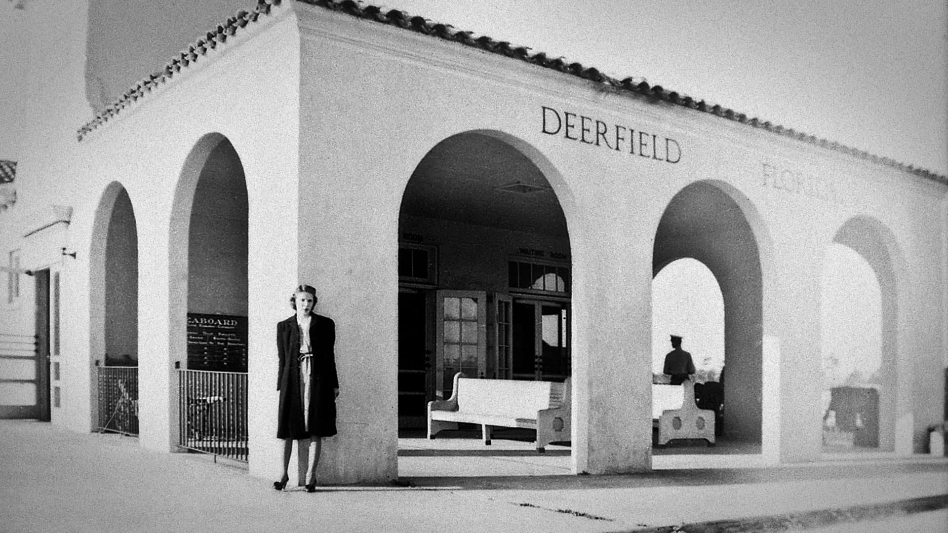 Seaboard Railway in early Deerfield Beach, FL