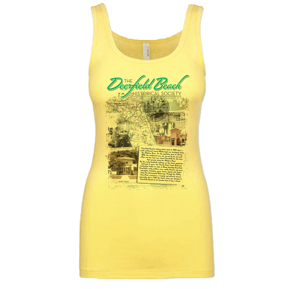Deerfield Beach Historical Society - SHOP: Women's Tank Top