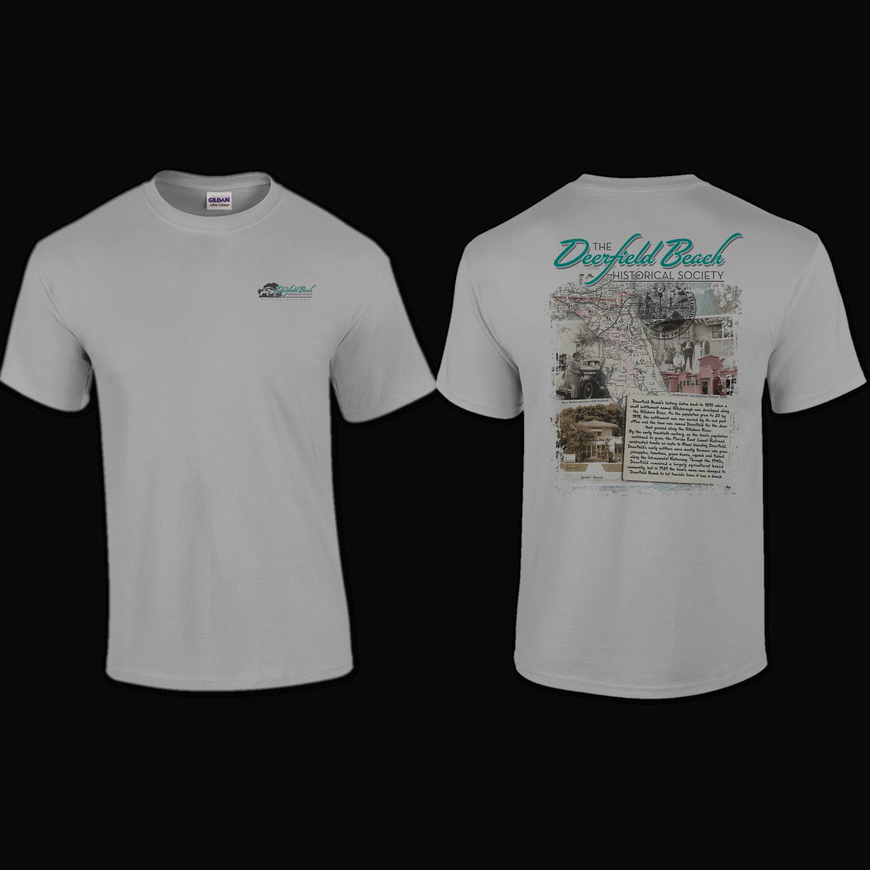 T-Shirt: Pocket Print - Deerfield Beach Historical Society
