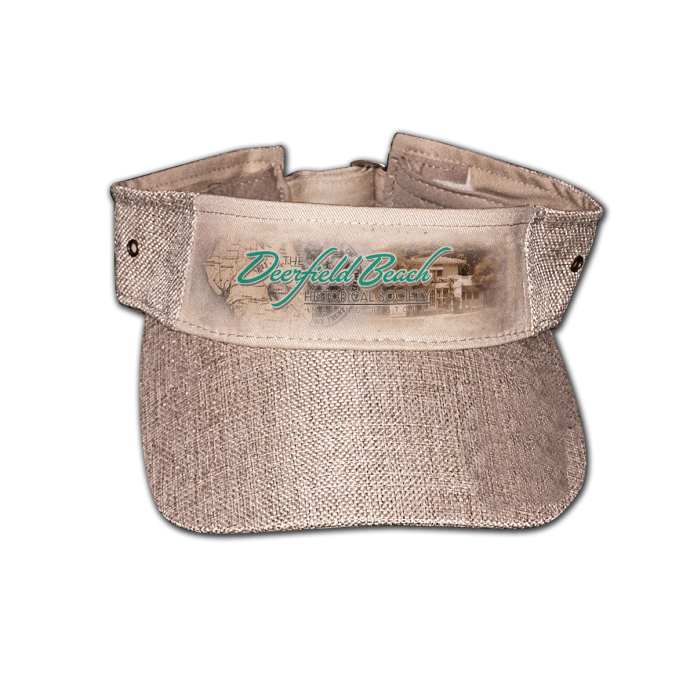 Deerfield Beach Historical Society - SHOP: Visor