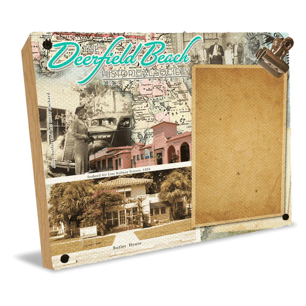 Deerfield Beach Historical Society - SHOP: Clip Photo Frame