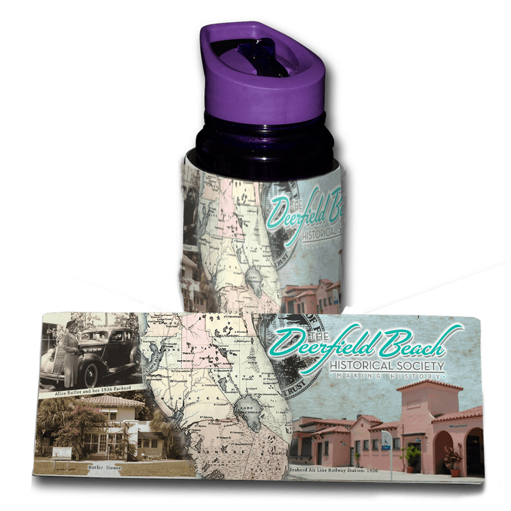 Deerfield Beach Historical Society - SHOP: Koozie