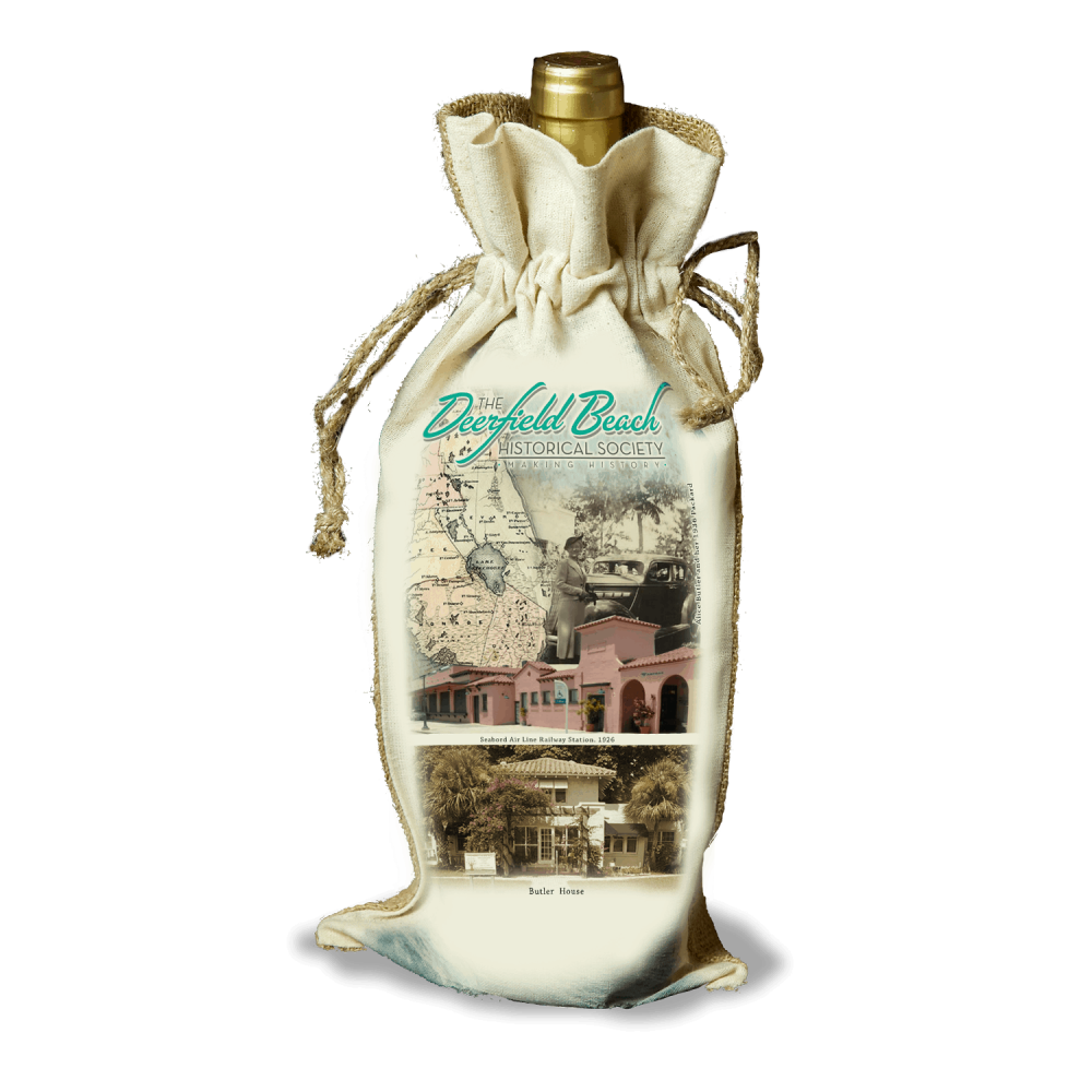 Deerfield Beach Historical Society - SHOP: Wine Bag