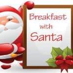 Breakfast with Santa: Saturday, December 2nd
