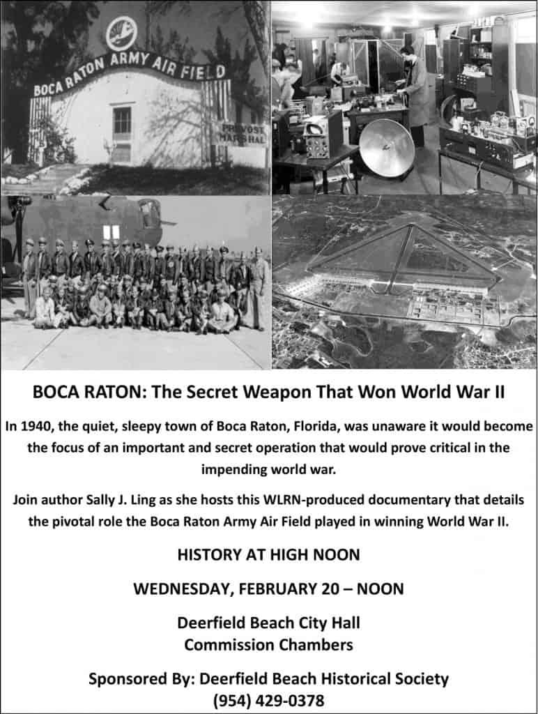 BOCA RATON: The Secret Weapon That Won World War II