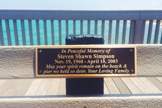 Historical Society Installs Nine New Memorial Benches On Beach